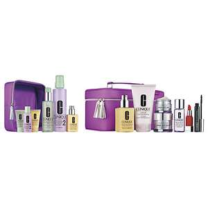Clinique 3 Step Gift Set 1/2 plus extras at John Lewis for £90.50