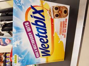 36pk weetabix @ farmfoods for £1.00