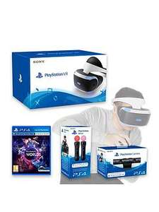 PSVR,Camera,Moves,VR Worlds (with code) at Very for £369.99