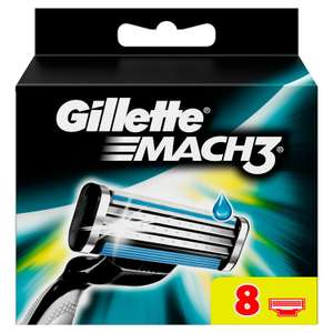 Gillette Mach3 Manual Razor Blades - Pack of 8 Blades - £8,74 @ Amazon (15% Sub & Save + £2 Voucher Code)