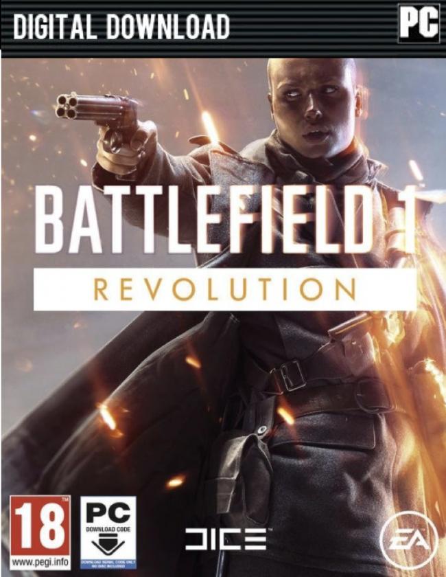 Battlefield 1 Revolution (Origin PC Download) £28.49 with 5% Facebook code @ CDKeys