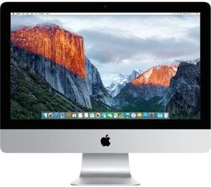 "APPLE iMac 4K , I5, 1TB hdd, Radeon 21.5"" (2017) Currys PCWorld - £1099 @ Currys"