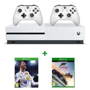 *ANOTHER* XBOX one s 500gb + fifa 18 or COD WWII + Forza Horizon 3 Hot wheels edition + extra controller @ smyths - £219.99