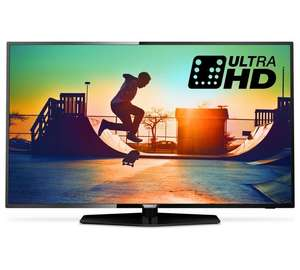 Philips 55PUS6162 55 Inch 4K UHD HDR Smart TV with FVPlay 700hz - £449.10 with code @ Argos