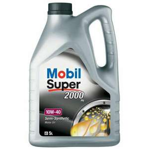 Mobil Super 2000 X1 Engine Oil - 10W-40 - 5ltr. Free delivery. Eurocarparts.