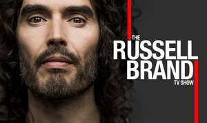 russell brand - 15th november at canada water, london SE16  - free tickets