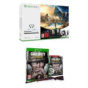 Xbox S 1TB model with Assassin's Creed Origins / Rainbow 6 + COD WW2 + Guide £229.99 @ Amazon