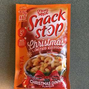 Mug Shot Snack Stop Christmas Dinner Limited Edition flavour - 39p  (or 3 for £1) @ B&M