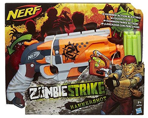 Nerf Zombie Strike Hammershot Blaster £12.35 (Prime) £17.10 (Non Prime) @ Amazon