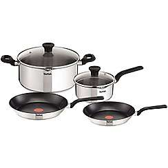 Tefal Stainless Steel Duetto set of 4 pan £54 with code + free delivery @ Debenhams New Price £48
