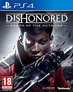 Dishonored 2 Death of the Outsider (PS4) £11.99 (Prime) £13.98 (Non-Prime) Delivered @ Amazon