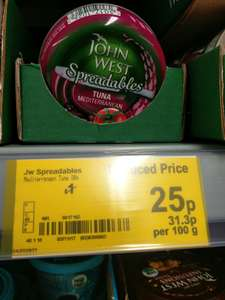 *INSTORE* Asda Trafford John West Tuna spreadable was £1 now 25p