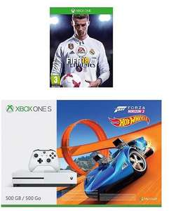 Xbox one S with FIFA 18, Forza Horizon 3 and 12 months Live membership - £199.99 @ Very