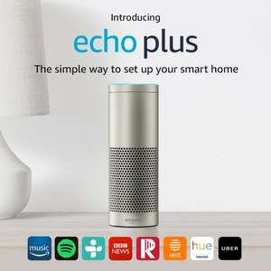 Amazon Echo Plus – With built-in smart home hub (Silver / White / Black) - £101.40 - Amazon.it
