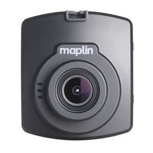 Maplin M220 Dashcam (720p) with free 32GB SDHC Card £24.50 (instore)