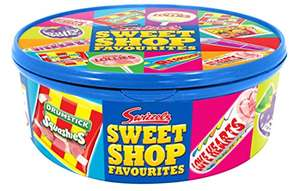 Swizzles Sweet Shop Favourites Tub, 750g (Pack of 4) £4 (Add on item) @ Amazon
