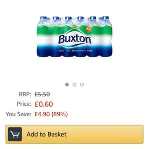 Buxton 500ml x24 for 60p using Prime Now App (Birmingham area)