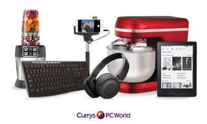 £5 for a £10 for Currys PC World E-Gift Card @ Groupon (Invite only)