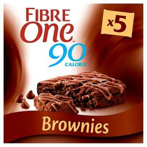 Fiber one chocolate fudge brownie £1 a pack in B&M Wakefield