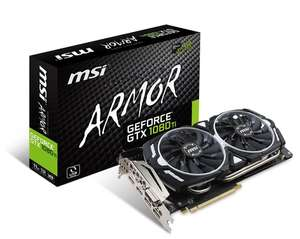 Msi GTX1080Ti £616 del @ Amazon.fr