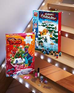Trolls and Block Tech Advent Calendars at Aldi - £5.99 each - In store from Thurs 9th Nov