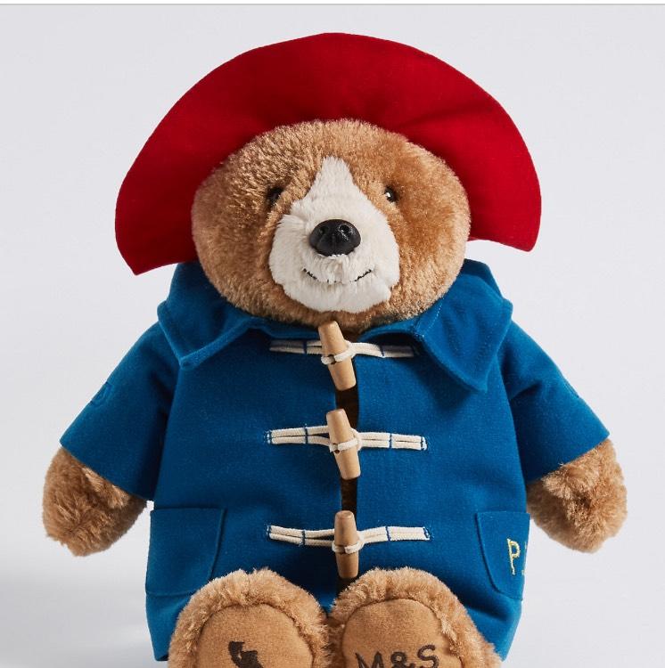 BACK IN STOCK (type in bear on website) Paddington bear £12 C+C at M&S