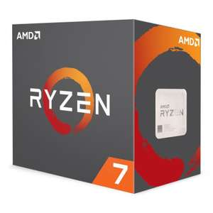 AMD Ryzen 7 1700 with Wraith Cooler £206.98 @ eBuyer
