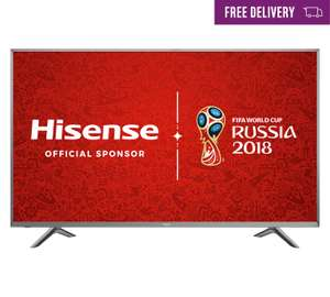 Hisense H65N5750 65 Inch 4K Ultra HD Smart TV with HDR + Now TV Box £823.05 @ Argos
