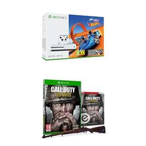 Xbox One S (500GB)+ hot wheels  with Forza Horizon 3 + Call of Duty: WWII £199.99 @ Amazon