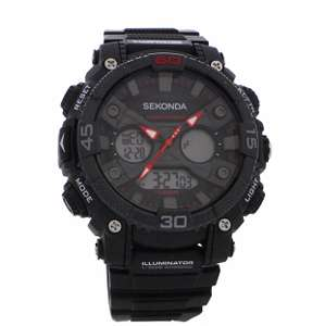 Sekonda chronograph dual time watch £36 plus Extra 10% off with newsletter sign up making it £32.40 with free delivery @ The Watch Shop