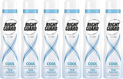 Right Guard Women Deodorant 150 ml - Pack of 6 £6 Prime / £5.70 S+S / £10.75 Non Prime @ Amazon