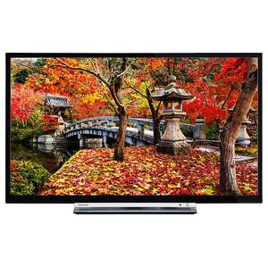 "Toshiba 32L3753DB LED Full HD 1080p Smart TV, 32"" with Built-In Wi-Fi, Freeview HD & Freeview Play, Black £199 @ John Lewis"