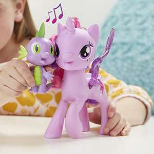 MY LITTLE PONY Princess Twilight Sparkle Spike the Dragon Friendship Duet - £10.89 Prime / £15.64 non Prime @ Amazon