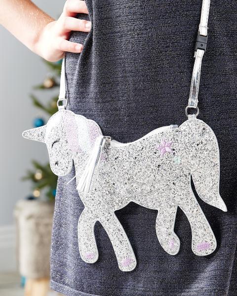 Kids Sparkling Crossover Unicorn Bag / Flamingo Bag / Cupcake Bag £4.99 Del @ Aldi (stocking filler?) - Pre-order 12th Nov dispatch