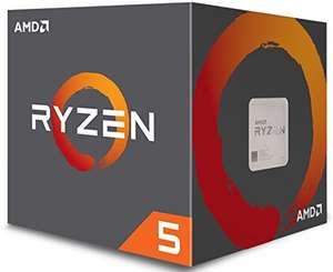 AMD Ryzen 5 1500X Desktop CPU-AM4, £119.98 from Amazon and ebuyer