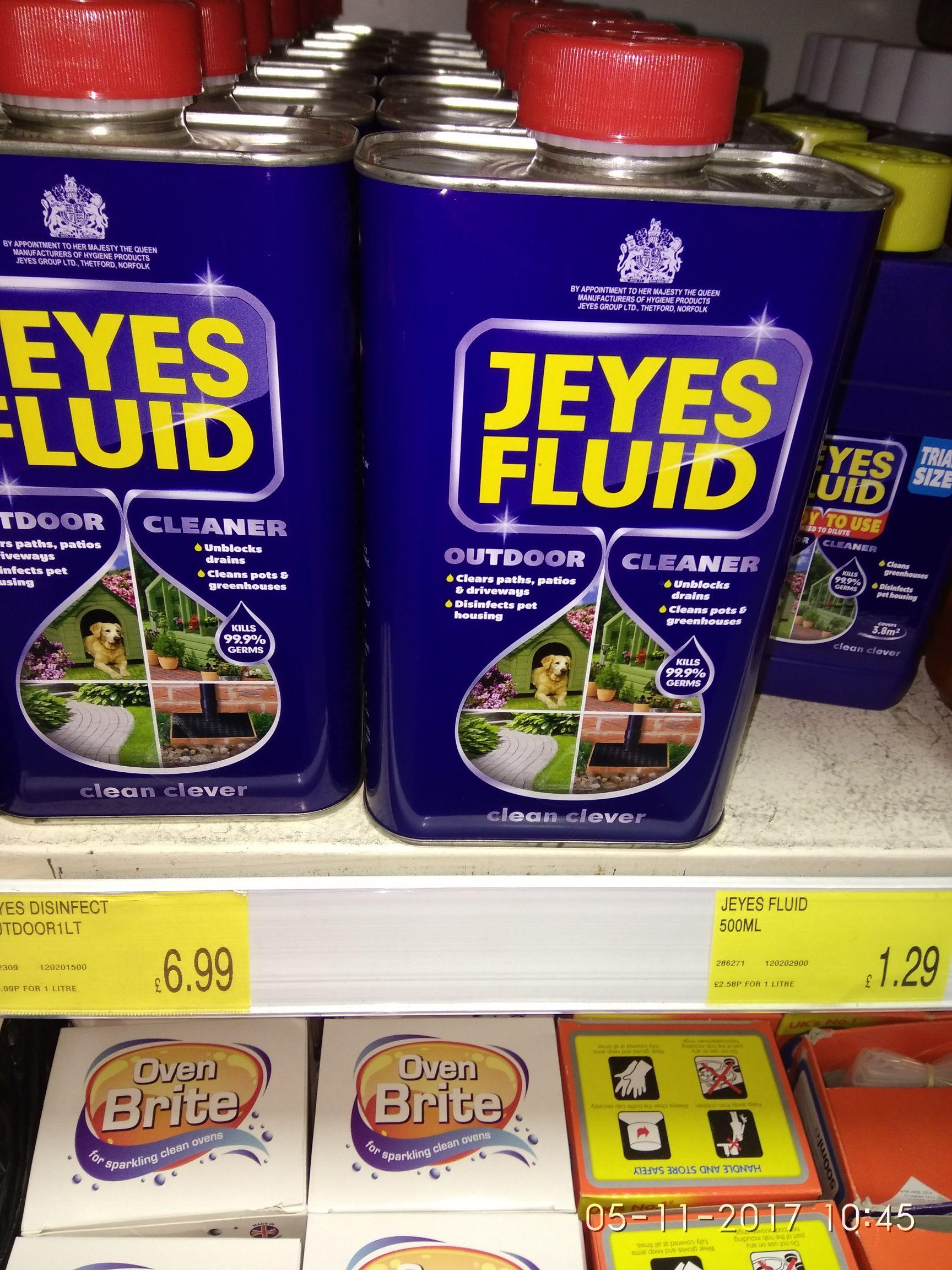 Jeyes fluid 500ml - £1.29 instore @ B&M