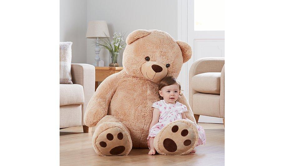 130cm / 1.3M Teddy Bear £25 instore / online (+ £5.95 Del) @ Asda George