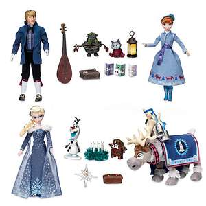 whole set of  singing dolls and accessories from the new Frozen film - £64.79 with code @ Disney Store