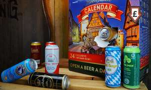 German Beer Advent Calendar - £34.99 delivered @ Groupon