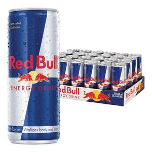 Red Bull products Amazon Student Prime promotion 10% off - £17.99