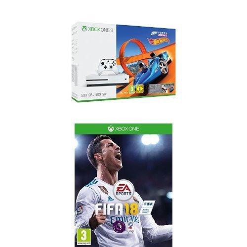 Xbox One S 500GB + Forza Horizon 3 OR Assassins Creed Origins + FIFA 18 - £199.99 @ Amazon