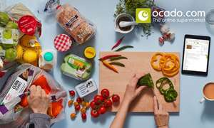 Up to £60 to Spend on Groceries Plus Free Delivery Smart Pass from Ocado (Up to 69% Off) @ Groupon