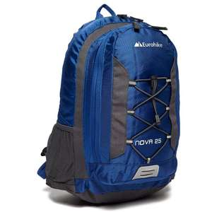 Eurohike Nova 25L Daysack  (Blue/Green/Black) £9.50 with code c+c @ Ultimate Outdoors