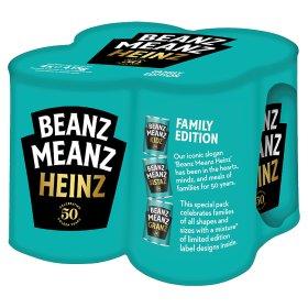 Heinz Beanz in Tomato Sauce 4x415g - £2 @ Asda