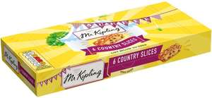 Mr Kipling Almond Slices (6) was £1.00 now 2 packs for £1.50 @ Asda