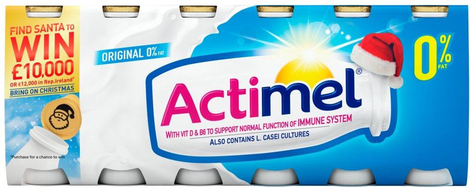 Actimel Strawberry Yogurt Drinks Rollback Actimel Strawberry Yogurt Drinks (12 x 100g) was £3.50 now £2.00 (Rollback Deal) @ Asda