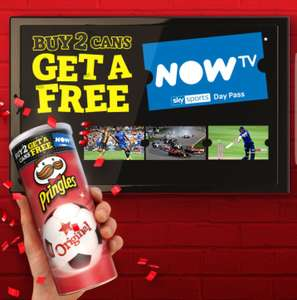 Free NowTV Sky Sports Day pass with pringles