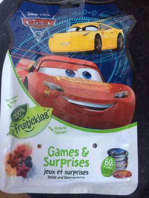 Cars Fruitickles Games & Surprise Bag only 42p in Asda