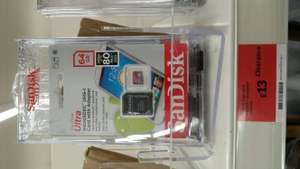 SanDisk 64GB Micro SD card for £13 instore @ Sainsbury's Throckley