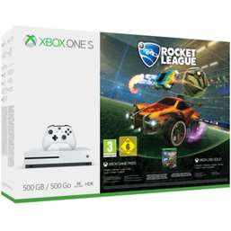 Xbox One S 500GB Console with Rocket League and Call of Duty WWII and Xbox Live 12 Month Subscription £229.99 @ Game